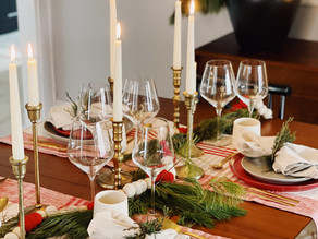 How To: Intimate Holiday Tablescape