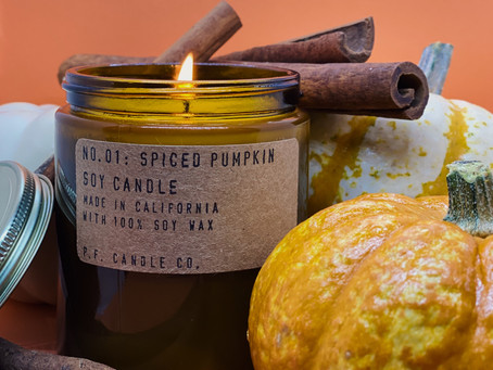 5 Must Have Fall Candles