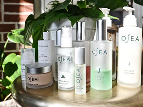 My Updated Skincare Routine: Osea Product Review