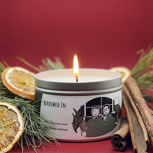 """""""Burrowed In"""" Candle"""