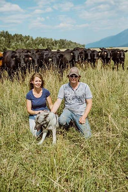 Dale and Wendy McNamar Kootenay Natural Meats Harmony Farm Lamb