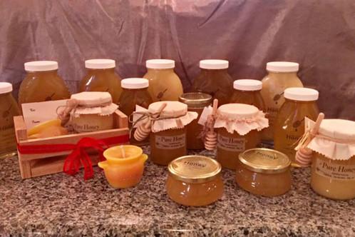 All natural honey.