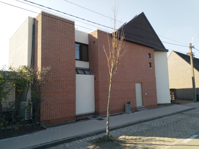 Prachtig Project , Stoom reiniging van dak & gevels , bescherming plaatsen op steen gevels en co