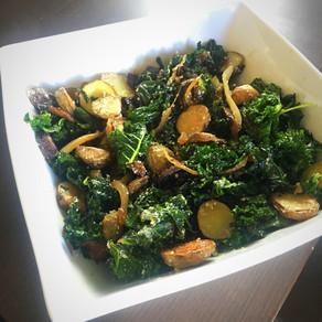 Warm Kale Salad