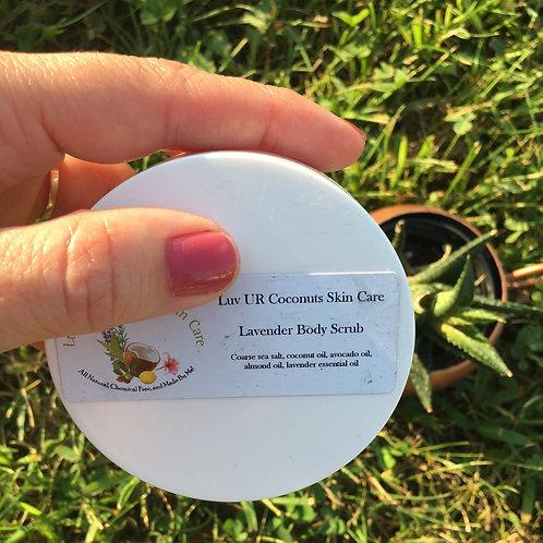 Body Scrub - Lavender (2 oz) by LuvURCoconuts