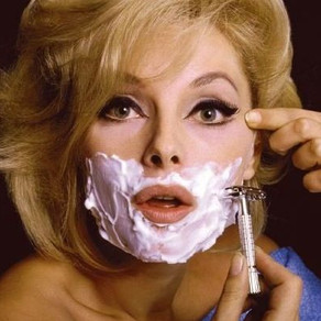Let's shave our faces, girls?