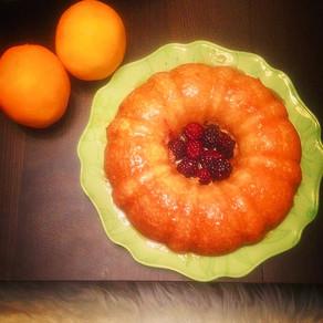 Easy and Gluten Free Orange Cake