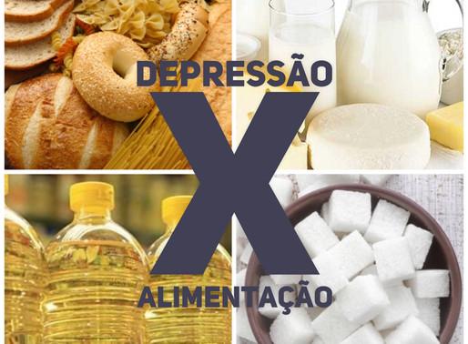 Depressão X Alimentação
