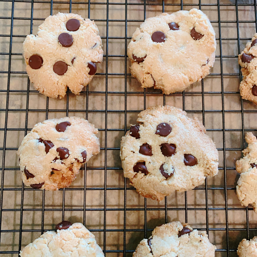 Sea Salt Chocolate Almond Cookies (Gluten-Free)