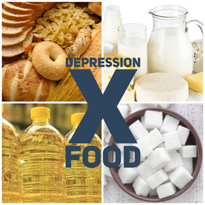 Depression X Food