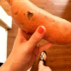 One SURPRISING health benefit of sweet potatoes!