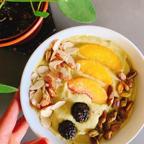 Peach Protein Bowl
