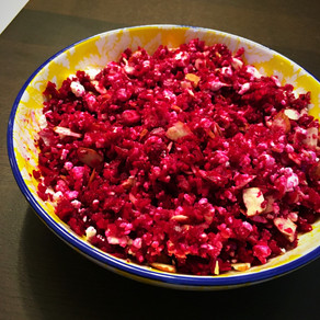 Beets Goat Cheese Salad