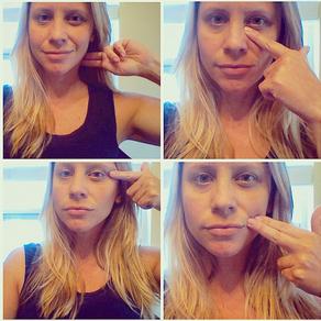 Facial Self-Massage