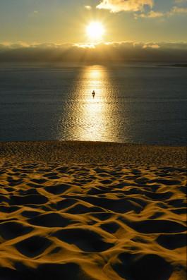 Coucher de soleil, Dune de Pyla