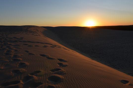 Lever de soleil, Dune de Pyla