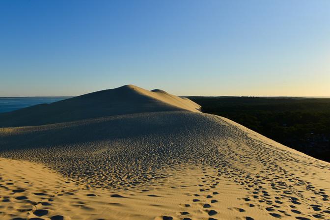 Dune de Pyla au lever du soleil