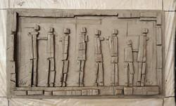 Domestic Interior Cast Relief III