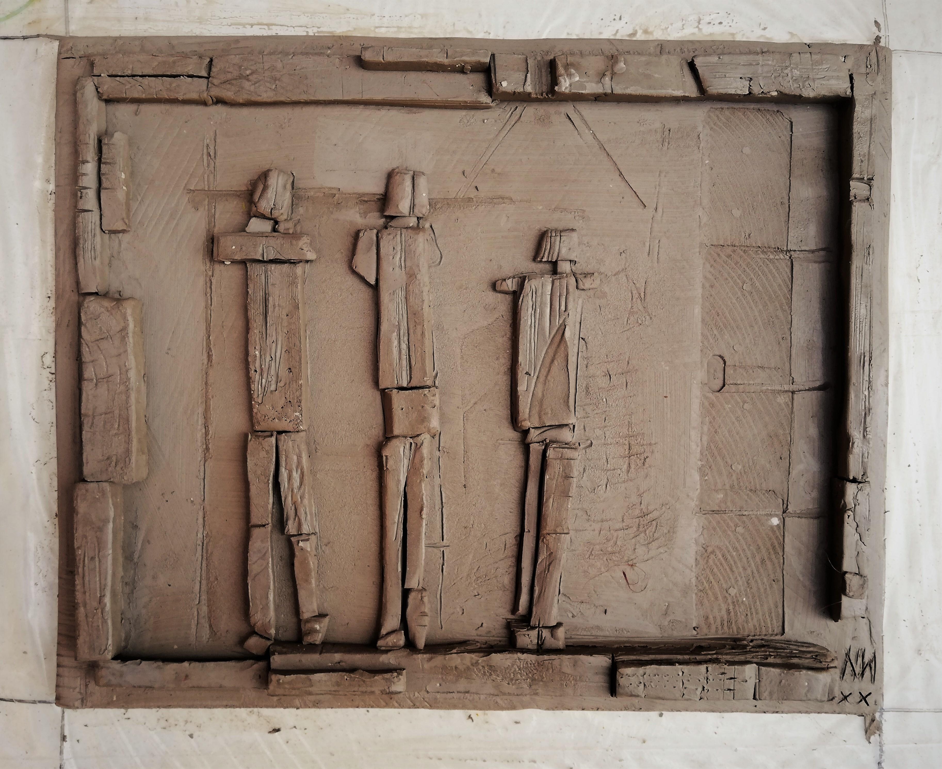 Domestic interior Cast Relief II