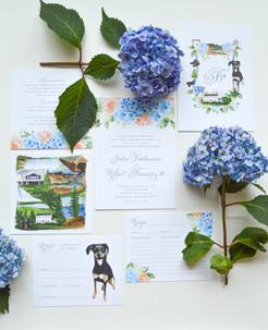 Julie & Bob Wedding Invitations