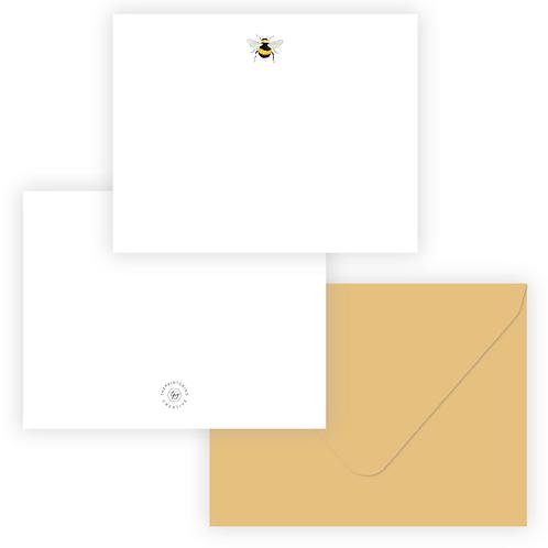 Golden Bee Stationery Set