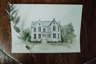 Custom Venue Watercolor