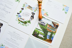 Personalized Custom Wedding Invitations