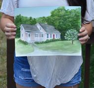 Custom Home Portrait