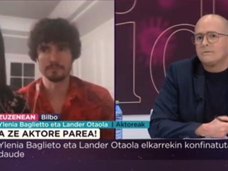 """Lander Otaola: """"El humor siempre nos saca de tiempos difíciles"""""""