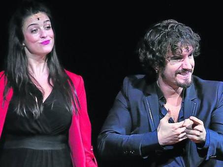 Ylenia Baglietto y Lander Otaola reivindican el amor y el humor en el Euskalduna