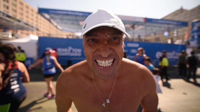 Maraton Stgo / Registro documental