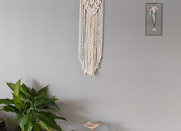 'Nott' Selenite Wall Hanging