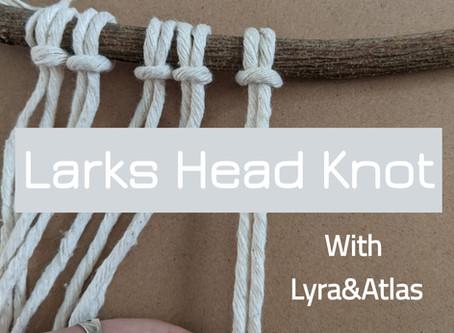 Larks Head Tutorial