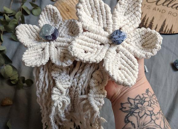 Pepper Blossom (Macrame Flower)