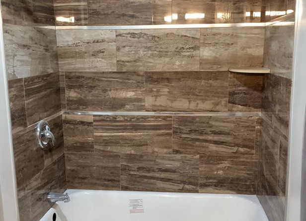 New tile for showers