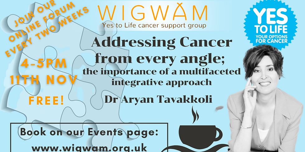 Addressing cancer from every angle: the importance of a multifaceted integrative approach