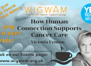 Our next Forum; Victoria Fenton, functional medicine practitioner