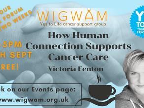 Our next Forum; Victoria Fenton, functional medicine practitioner