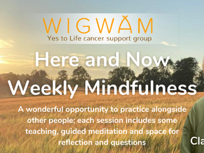 Here and Now. Weekly Mindfulness Group.