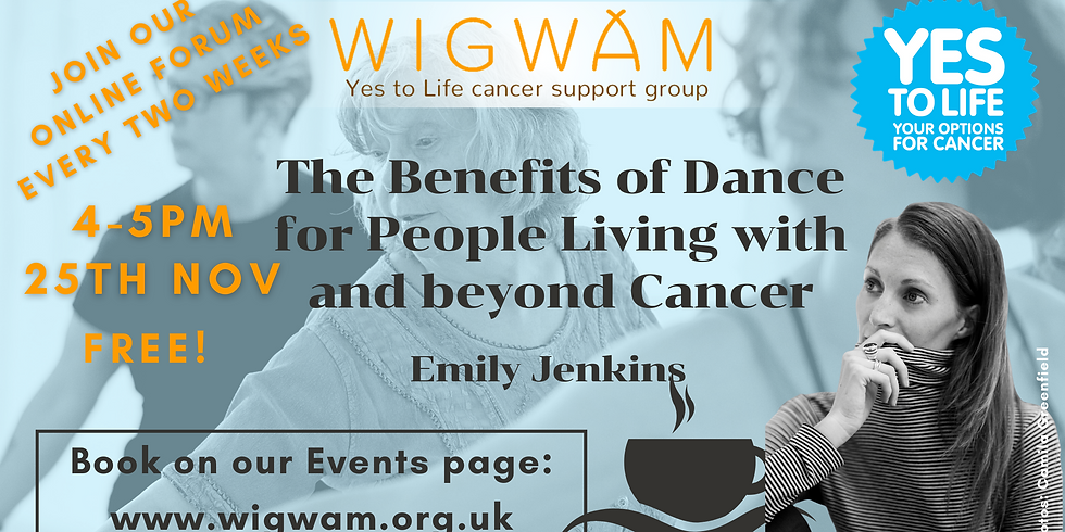 The benefits of dance for people living with and beyond cancer