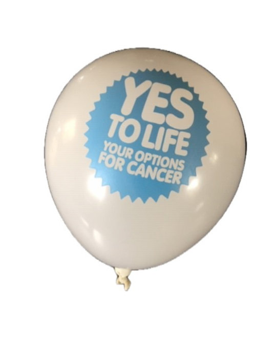 Yes to Life Latex Balloon