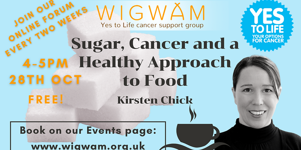 Sugar, Cancer and a Healthy Approach to Food