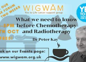 What we need to know before chemotherapy and radiotherapy