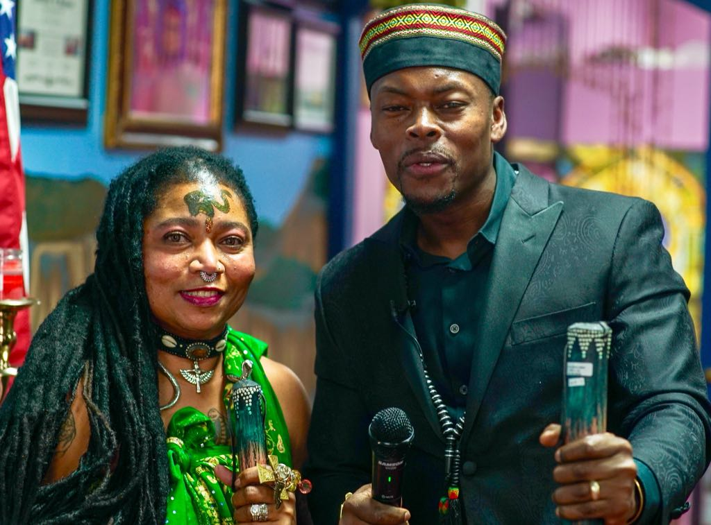 Miguel Zamor & Asha Zulu Mandela