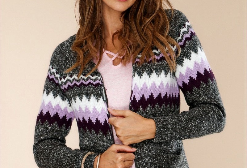 Grape Harvest Sweater