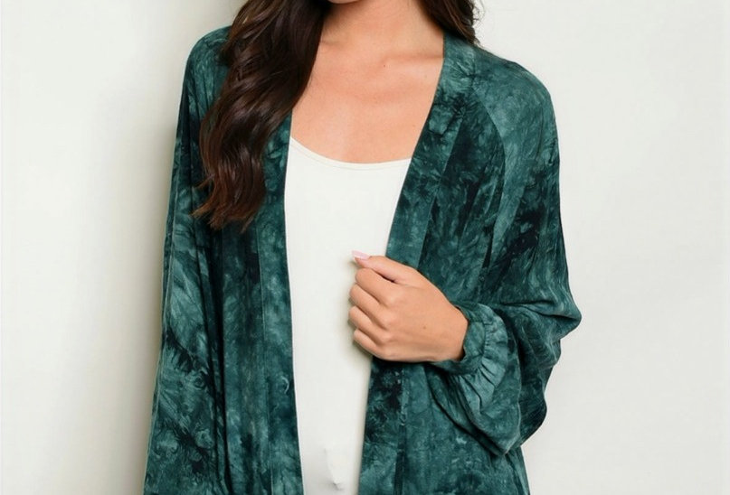 Emerald Envy Cardigan