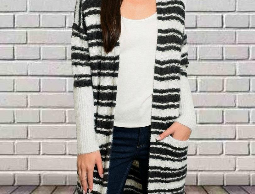 Snuggle Stripe Sweater