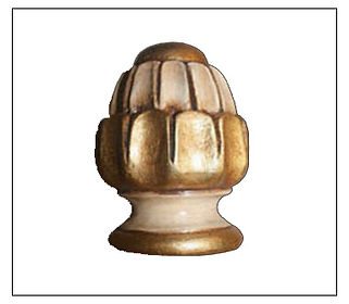 Crown finial