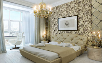 Wallpaper, Curtains & Bedding
