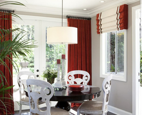 Curtains & Roman Blinds